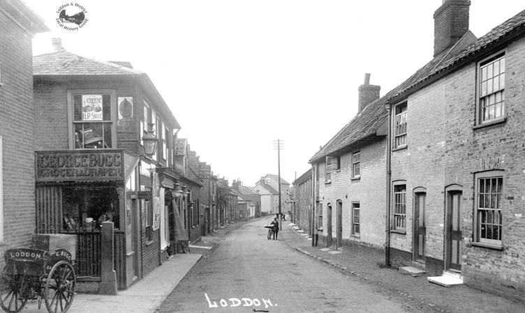 Bridge Street in 1909
