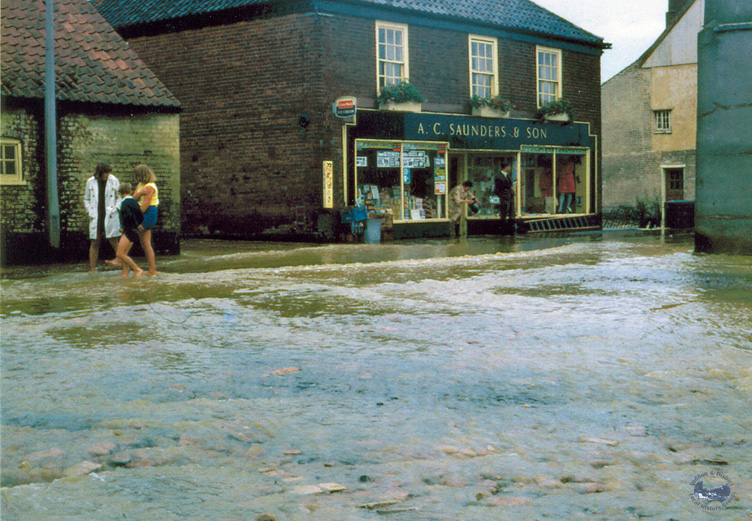 The floods of 1968