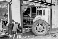 Crash at Bugg's stores