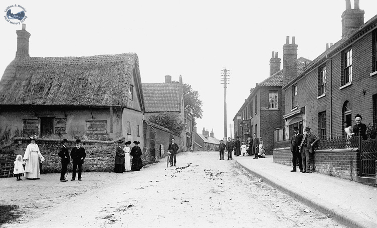 High Street in 1909