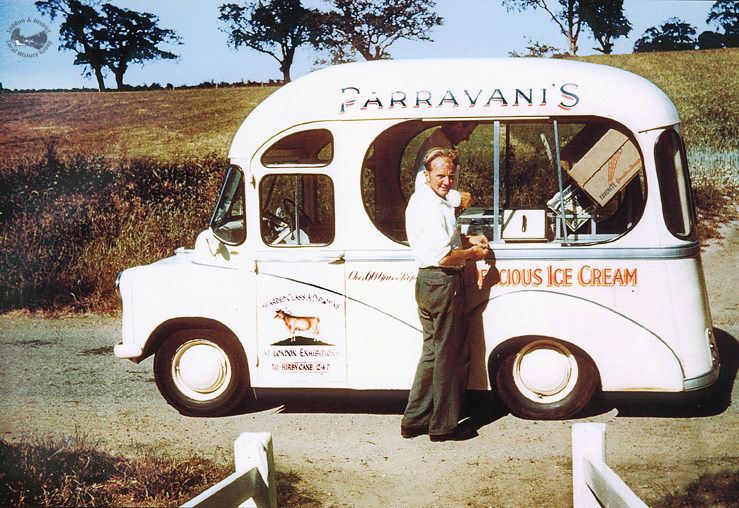 Parravani ice cream cart